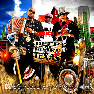 Cover: VA - DJ Chuck T - Deep In The Heart Of Texas Vol 3